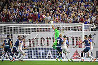 Houston, TX - Tuesday June 21, 2016: Sergio Romero during a Copa America Centenario semifinal match between United States (USA) and Argentina (ARG) at NRG Stadium.