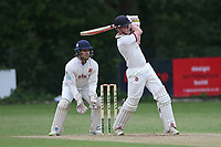 G Balmford in batting action for Brentwood during Wanstead and Snaresbrook CC (fielding) vs Brentwood CC, Hamro Foundation Essex League Cricket at Overton Drive on 19th June 2021