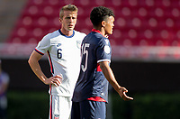 ZAPOPAN, MEXICO - MARCH 21: Jackson Yueill #6 of the United States during a game between Dominican Republic and USMNT U-23 at Estadio Akron on March 21, 2021 in Zapopan, Mexico.