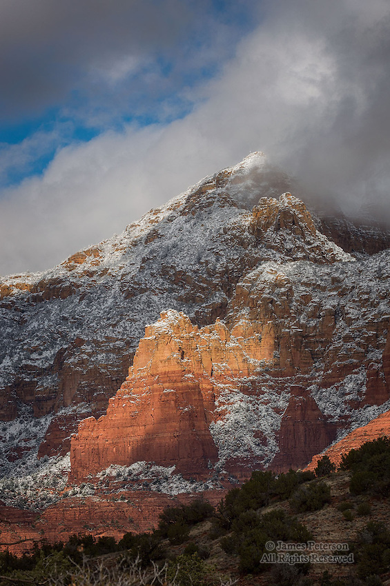 Clearing Storm above Oak Creek Canyon, Arizona