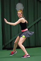 Rotterdam, The Netherlands, 15.03.2014. NOJK 14 and 18 years ,National Indoor Juniors Championships of 2014, Renate van Oorschodt (NED)<br /> Photo:Tennisimages/Henk Koster