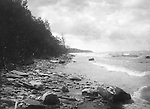 North East PA:  The rocky shores of Lake Erie.  During the early 1900s, the Stewart family vacationed on Lake Erie near North East Pennsylvania. Since hotels and motels were non-existent, camping was the only viable option for a large number of vacationers