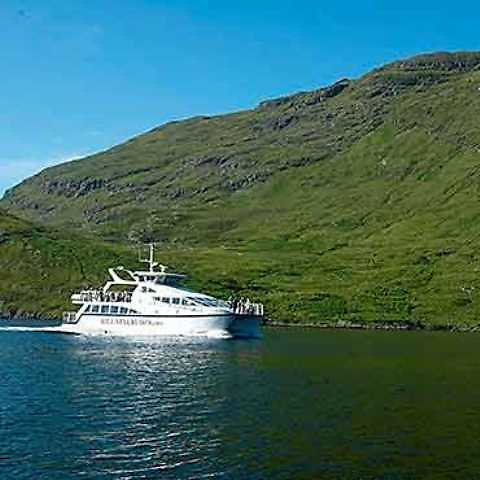 The Connemara Lady, (150 tonnes, passenger capacity 150), is a tourist operation at Killary Harbour in Connemara