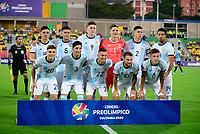 BUCARAMANGA – COLOMBIA, 03-02-2020: Argentina U-23 y Uruguay U-23 en partido del cuadrangular final del CONMEBOL Preolímpico Colombia 2020 jugado en el estadio Alfonso Lopez de Bucaramanga, Colombia. / Argentina U-23 and Uruguay U-23 in match of for the final quadrangular as part of CONMEBOL Pre-Olympic Tournament Colombia 2020 played at Alfonso Lopez stadium in Bucarmanga, Colombia. Photo: VizzorImage / Julian Medina / Cont