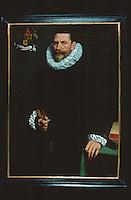 Paintings:  Frans Pourbus the Younger--Portrait van Petrus Ricardus.   Groeninge Museum, Bruges.  Reference only.