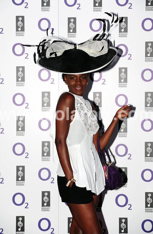 **ALL ROUND PICTURES FROM SOLARPIX.COM**                                             **WORLDWIDE SYNDICATION RIGHTS**                                                                                  Caption: Arrivals at the Nordoff Robbins 02 Silver Clef Awards Lunch, held at the Hilton Park Lane, London, UK. 01 July 2011                                                                     This pic: Shingai Shoniwa from the Noisettes                                                                      JOB REF: 13654 MZF       DATE: 01_07_2011                                                           **MUST CREDIT SOLARPIX.COM OR DOUBLE FEE WILL BE CHARGED**                                                                      **MUST AGREE FEE BEFORE ONLINE USAGE**                               **CALL US ON: +34 952 811 768 or LOW RATE FROM UK 0844 617 7637**