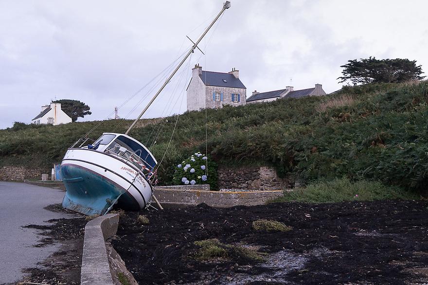 Ile d'Ouessant - Bretagna, 26 agosto 2020. Lampaul. Armida of Polscoe.