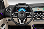 Car pictures of steering wheel view of a 2020 Mercedes Benz GLB GLB250 5 Door SUV