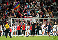 Washington, DC. - Saturday, August 24, 2019: The Washington Spirit defeated the Orlando Pride 2-1 in a NWSL match at Audi Field.