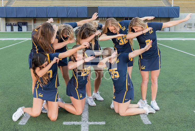 Berkeley, CA - December 2, 2016: The 2017 Cal Bears Women's Lacrosse Team.