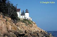 AC31-004a  Lighthouse - Bass Harbor, Maine