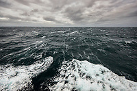 Open waters in the Barents Sea.