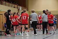 Mannschaftsbesprechung TGB Darmstadt - Mörfelden-Walldorf 09.02.2020: TGS Walldorf vs. TGB Darmstadt, Sporthalle