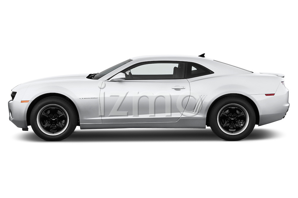 Driver side profile view of a .2013 Chevrolet Camaro Coupe 1LS