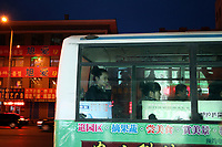 China. Jilin Province. Public transportation in the town of Yanji, close to the border with North Korea. The town is part of the Korean Autonomous Prefecture in the north-east of the country. 2011