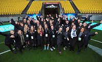 Lions tour event staff before the 2017 DHL Lions Series 2nd test rugby match between the NZ All Blacks and British & Irish Lions at Westpac Stadium in Wellington, New Zealand on Saturday, 1 July 2017. Photo: Dave Lintott / lintottphoto.co.nz