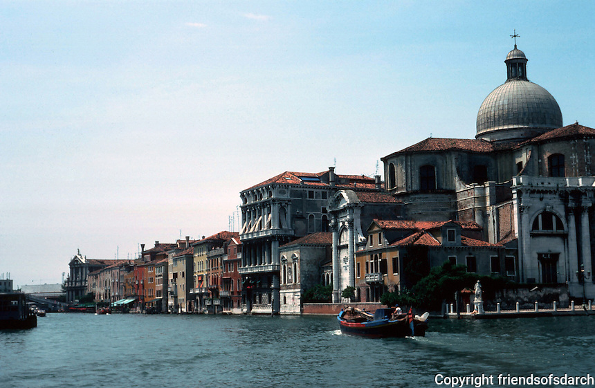 Venice:  #6.  Grand Canal.  Photo '83.