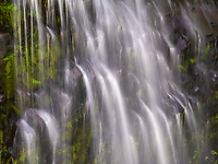 Mount Rainier National Park has many water falls, most require a hike of no more than a hundred yards or so.  As usual, my compositions are zoomed in looking for detail rather than an all encompassing Landscape shot.
