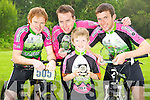 Joe O'Leary, Brendan O'Mahony, Sean Prendiville and Eoghan Crowley, Killarney Cycling Club, who won prizes at the All Ireland mountain bike championships held in Wicklow at the weekend. ..............................................Christy O'Mahony, captain Beaufort Golf club and Irene McCarthy, Lady Captain Beaufort Golf Club pictured with James Lucey and Sheila McCarthy, who were the winners in their Captain Prize Competition at the course on Sunday. Also pictured are Frank Coffey, President, Sean Coffey, vice captain, Teresa Clifford, Margaret Guerin, Josephine O'Shea, Gretta Hurley, Renee Clifford, Peggy O'Riordan, Maureen Rooney, Mary Barrett, Robin Suter, Gearoid Keating, Jim Hurley, Gabhan O'Loughlin, Rory Browne, Mike Quirke, Matt Templeman and Simon Rainsford...Picture: Ger Cronin LMPA (087) 0522010....PR SHOT..NO REPRODUCTION FEE.............................................................................................................................................................................................................................................