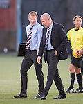 Neil McIlhargey and Mark Warburton
