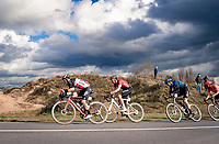 Jasper de Buyst (BEL/Lotto-Soudal) chasing in the dunes<br /> <br /> 44th AG Driedaagse Brugge-De Panne 2020 (1.UWT)<br /> 1 day race from Brugge to De Panne (203km shortened to 188km due to the windy weather conditions) <br /> <br /> ©kramon