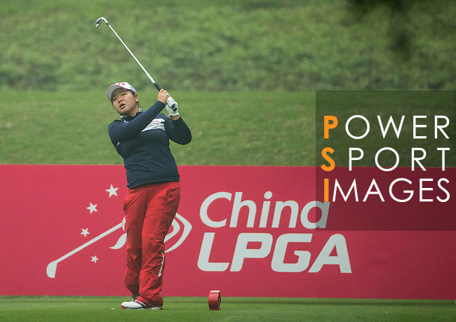 Round 4 of the World Ladies Championship 2016 on 13 March 2016 at Mission Hills Olazabal Golf Course in Dongguan, China. Photo by Victor Fraile / Power Sport Images