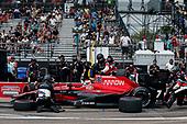 2017 Verizon IndyCar Series - Firestone Grand Prix of St. Petersburg<br /> St. Petersburg, FL USA<br /> Sunday 12 March 2017<br /> Mikhail Aleshin pit stop<br /> World Copyright:Sam Cobb/LAT Images<br /> ref: Digital Image cobb-stpete-170312-4415