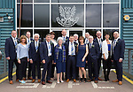 St Johnstone v Dundee United....17.05.14   William Hill Scottish Cup Final<br /> Steve and Louise Brown with guests and Directors prior to leaving McDiarmid park;<br /> Picture by Graeme Hart.<br /> Copyright Perthshire Picture Agency<br /> Tel: 01738 623350  Mobile: 07990 594431