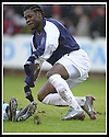 25/1/03       Copyright Pic : James Stewart                  .File Name : stewart-falkirk v hearts 21.COLIN SAMUEL STARTS TO CELEBRATE AFTER HE SCORES FALKIRK'S THIRD GOAL.......James Stewart Photo Agency, 19 Carronlea Drive, Falkirk. FK2 8DN      Vat Reg No. 607 6932 25.Office : +44 (0)1324 570906     .Mobile : + 44 (0)7721 416997.Fax     :  +44 (0)1324 570906.E-mail : jim@jspa.co.uk.If you require further information then contact Jim Stewart on any of the numbers above.........
