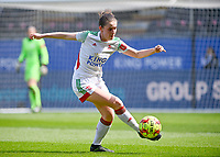 Marie Detruyer (17) of OHL pictured during a female soccer game between Oud Heverlee Leuven and RSC Anderlecht on the 2nd matchday of play off 1 in the 2020 - 2021 season of Belgian Womens Super League , saturday 17 th of April 2021  in Heverlee , Belgium . PHOTO SPORTPIX.BE | SPP | DAVID CATRY