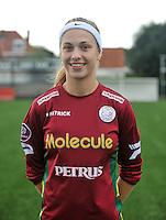 20130824 - Zulte , Belgium : Sofie Vanhooren , Saturday 24 August 2013. Teampictures <br /> PHOTO DAVID CATRY / Nikonpro.be