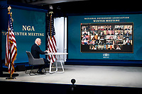 FEB 25 Joe Biden participates in the National Governors Association's Winter Meeting