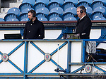 Rangers v St Mirren: Kevin Thomson and Clive Tyldesely commentating for RTV