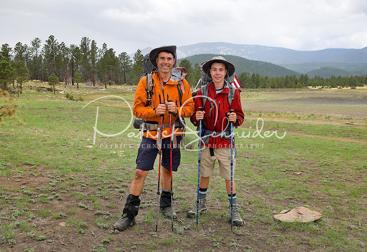 Photo story of Philmont Scout Ranch in Cimarron, New Mexico, taken during a Boy Scout Troop backpack trip in the summer of 2013. Photo is part of a comprehensive picture package which shows in-depth photography of a BSA Ventures crew on a trek.  <br /> The  Photo by travel photograph: PatrickschneiderPhoto.com