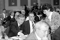 Sainte-Hyacinthe (QC) CANADA - April 14 1996 - Stephane Dion at a Liberal Party of Canada meeting.