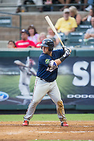 Mitchell Kranson (9) of the Elizabethton Twins at bat against the Pulaski Yankees at Calfee Park on July 25, 2016 in Pulaski, Virginia.  The Twins defeated the Yankees 6-1.  (Brian Westerholt/Four Seam Images)