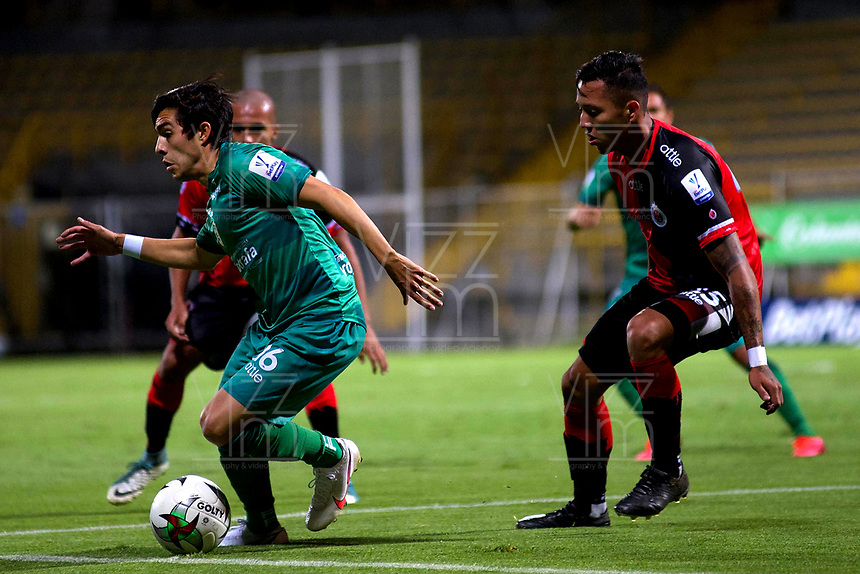 BOGOTA - COLOMBIA, 21-10-2020: La Equidad y Cucuta Deportivo, durante partido de la 3ra ronda clasificacion ida por la Copa BetPlay DIMAYOR 2020 en el estadio Metropolitano de Techo de la ciudad de Bogota. / La Equidad and Cucuta Deportivo, during a match 3rd round qualifying first leg for the BetPlay DIMAYOR Cup 2020 at the Metropolitano de Techo stadium in Bogota city. / Photo: VizzorImage / Samuel Norato / Cont.
