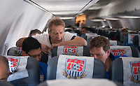 USMNT Travel from Jamaica to Seattle, Saturday, June 8, 2013