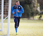 Remie Streete working on his fitness
