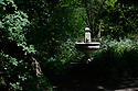 Walter Field, ARWS, memorial drinking fountain on the Hampstead Heath Extension, London, UK