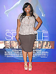 Amber Riley at The Tri Star Pictures World Premiere of SPARKLE held at The Grauman's Chinese Theatre in Hollywood, California on August 16,2012                                                                               © 2012 Hollywood Press Agency