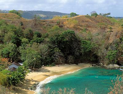 Trinidad & Tobago, Commonwealth, Tobago, Arnos Vale Bay: beach with only 1 hotel