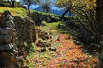 El Barida. Poble de Cava. Alt Urgell. Cami cap el veinat de cal Pubill. GR 150