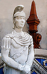 Roman Soldier Statue, Architectural Antiques, Coconut Grove, Miami, Florida