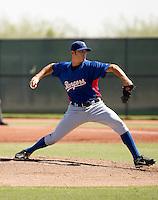 Danny Gutierrez - Texas Rangers 2009 Instructional League. .Photo by:  Bill Mitchell/Four Seam Images..