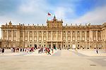 Royal Palace, Madrid, Spain.