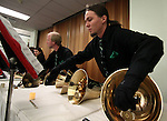 "The Tintabulations Handbell Ensemble performs during the ""Ringing in the Holidays"" event at the Carson City Library on Saturday, Dec. 15, 2012..Photo by Cathleen Allison"
