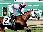 Feb 2010:  Chamberlain Bridge and Jamie Theriot win the Colonel Powers Stakes at the Fairgrounds in New Orleans, La.
