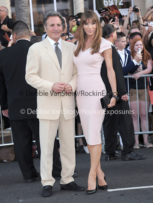 Jennifer Flavin Stallone and Frank Stallone attends The Lionsgate L.A. Premiere of The Expendables 3 held at The TCL Chinese Theatre in Hollywood, California on August 11,2014                                                                               © 2014 Hollywood Press Agency