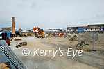Works been carried out at the Denny's site at the Island of Geese on Friday.